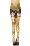 Leggings Feminine Tessuto Spandex in Polyester Close-fitting