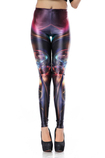 Leggings donna Close-fitting Casuale di Polyester in Spandex Opera d'arte