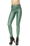 Leggings donna Tessuto Spandex Vintage Close-fitting Ripple Animale