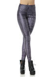 Leggings Close-fitting in Spandex in Polyester Moderno