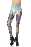 Leggings donna in Polyester Close-fitting Intemporel in Spandex