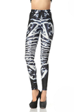 Leggings donna in Spandex Hip Hop in Polyester Opera d'arte