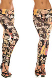 Leggings Opera d'arte Close-fitting in Spandex Sexy