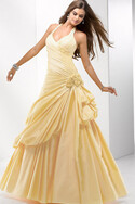 Abito Quinceanera in Taffeta A Terra Ball Gown Anello