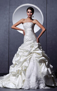 immagine 1 - Abito da Sposa Pomposo Romantico con Applique Bassa in Tulle