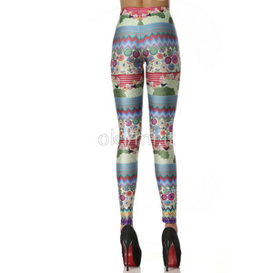 grande immagine 5 Leggings Close-fitting in Polyester in Spandex Vintage