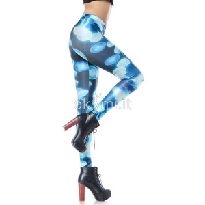 grande immagine 6 Leggings ragazza Nipped Waists in Polyester Moderno in Spandex