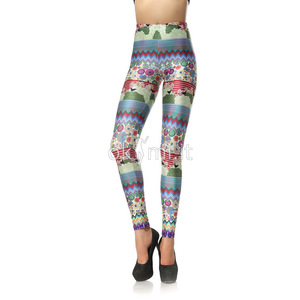 grande immagine 1 Leggings Close-fitting in Polyester in Spandex Vintage