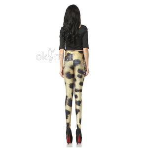 grande immagine 2 Leggings in Spandex Sexy Tapered Ripple Animale