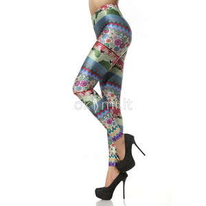 grande immagine 3 Leggings Close-fitting in Polyester in Spandex Vintage