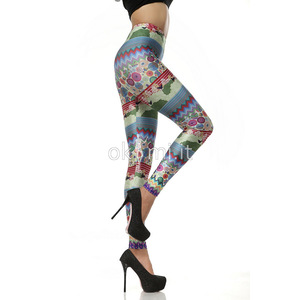 grande immagine 4 Leggings Close-fitting in Polyester in Spandex Vintage