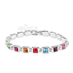 grande immagine 1 Bracciale Luxurious Cristino donne Stile Elegante Luxurious